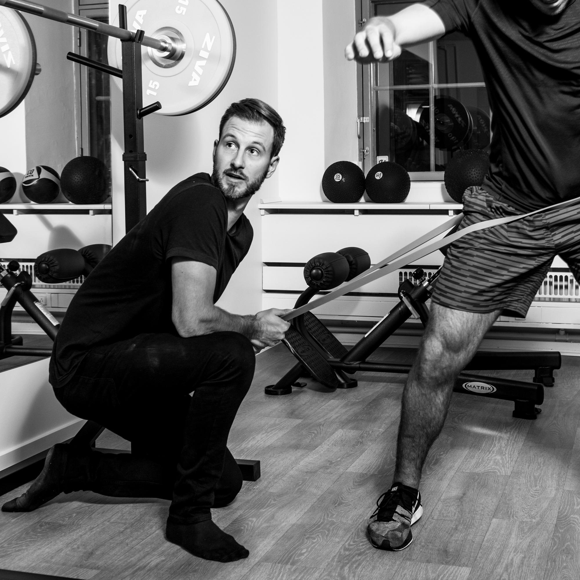 Esben Kjeldgaard, fysioterapeut i Sportsfysioterapien