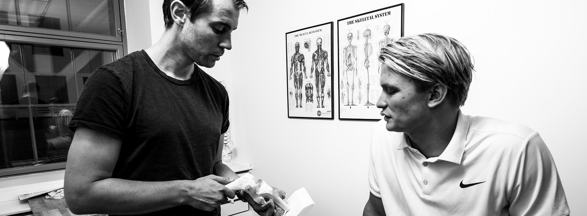 Få professionel rådgivning hos Sportsfysioterapien