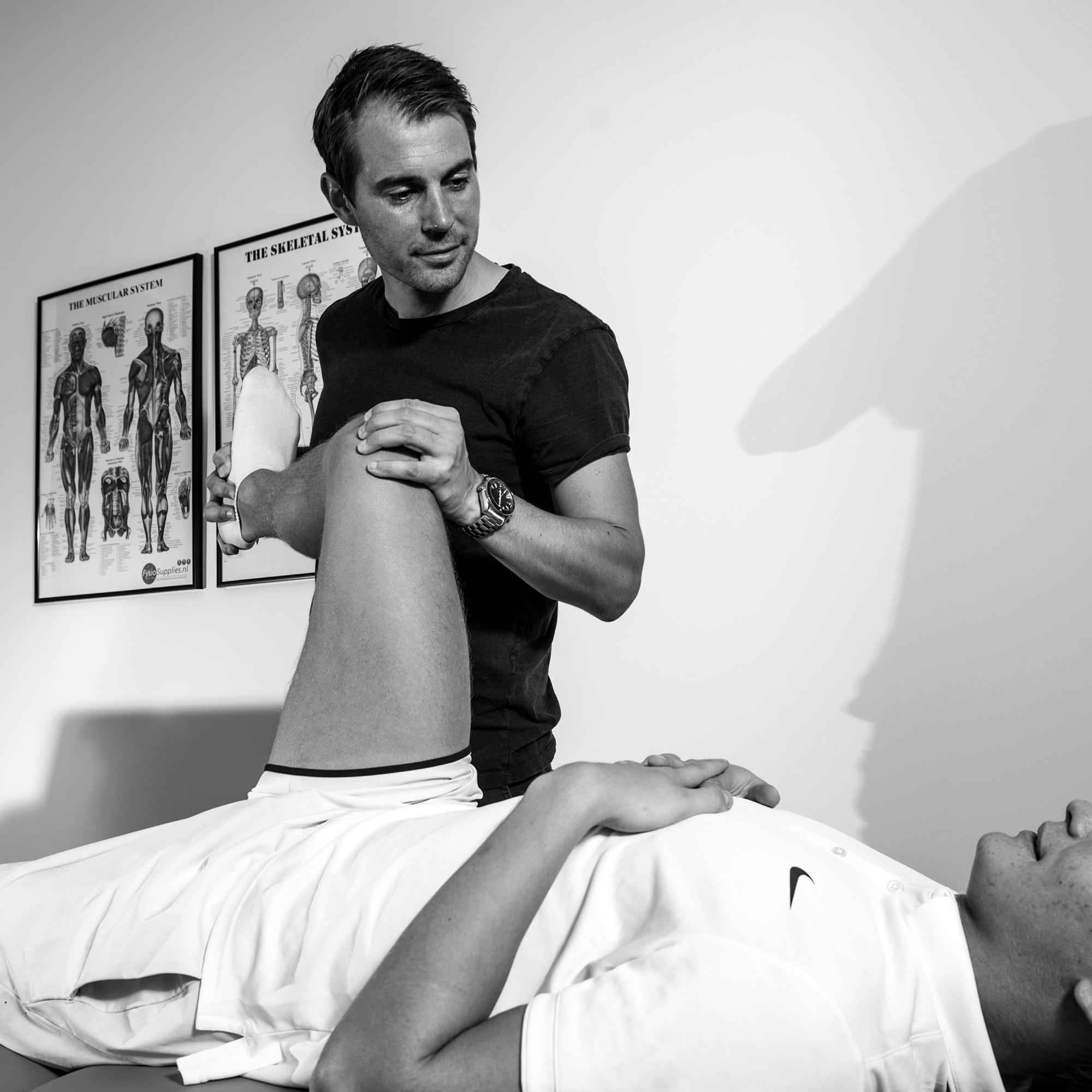 Fysioterapeut Mark Strøm, ejer af Sportsfysioterapien