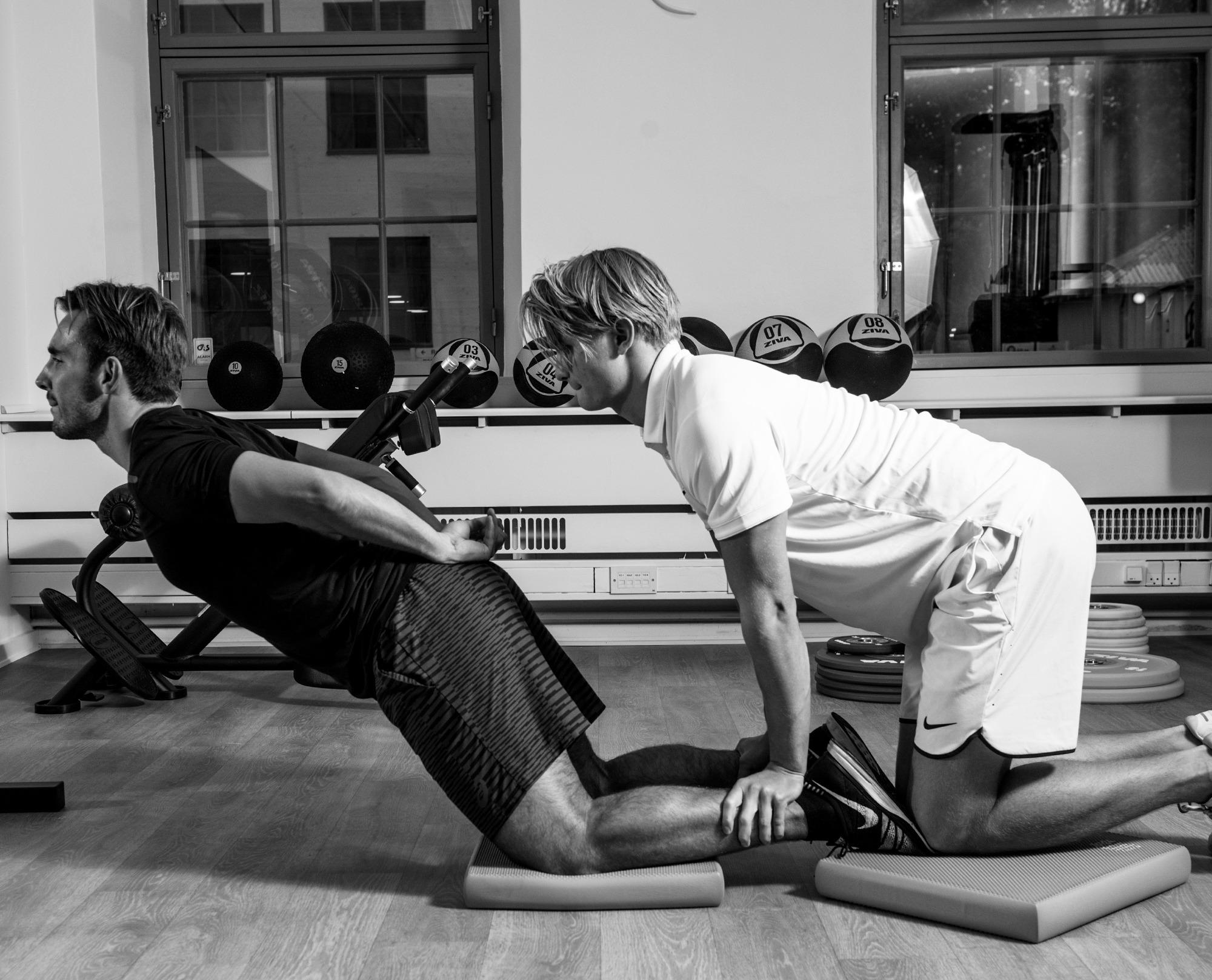 Skadesforebyggende træning i Sportsfysioterapien