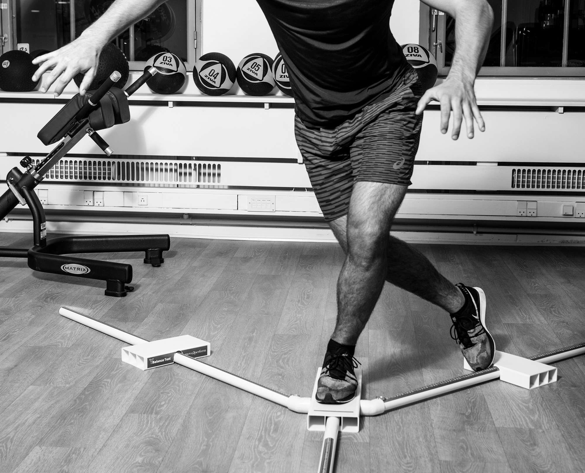 Rehabilitering af ankel i Sportsfysioterapien